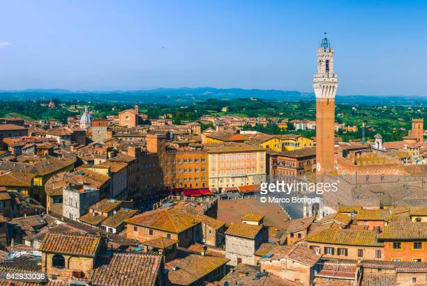 siena, italy. - siena italy stock photos and pictures
