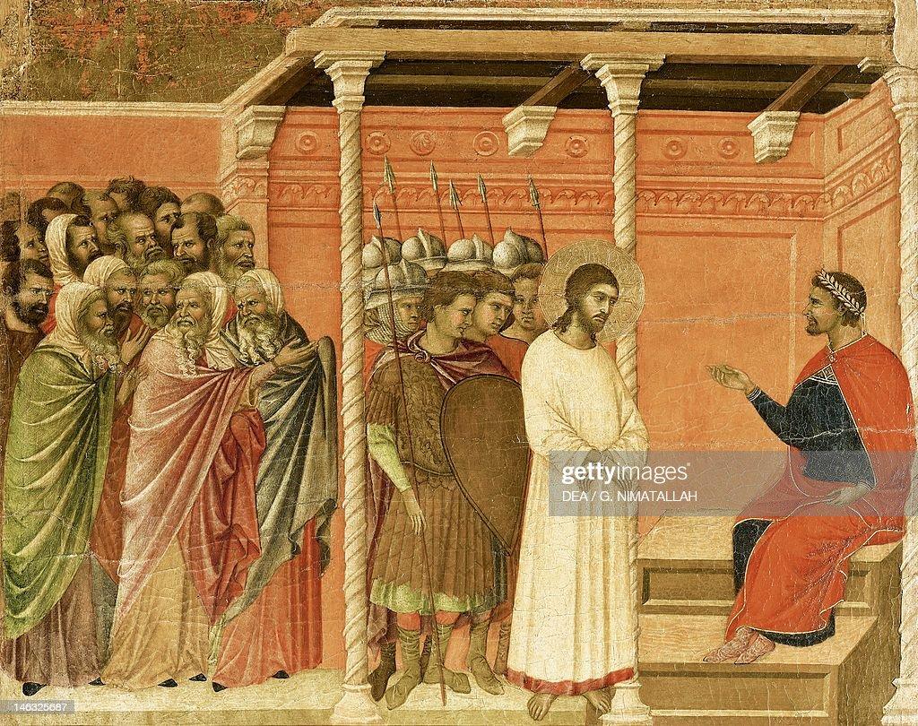 Christ before Pilate : News Photo