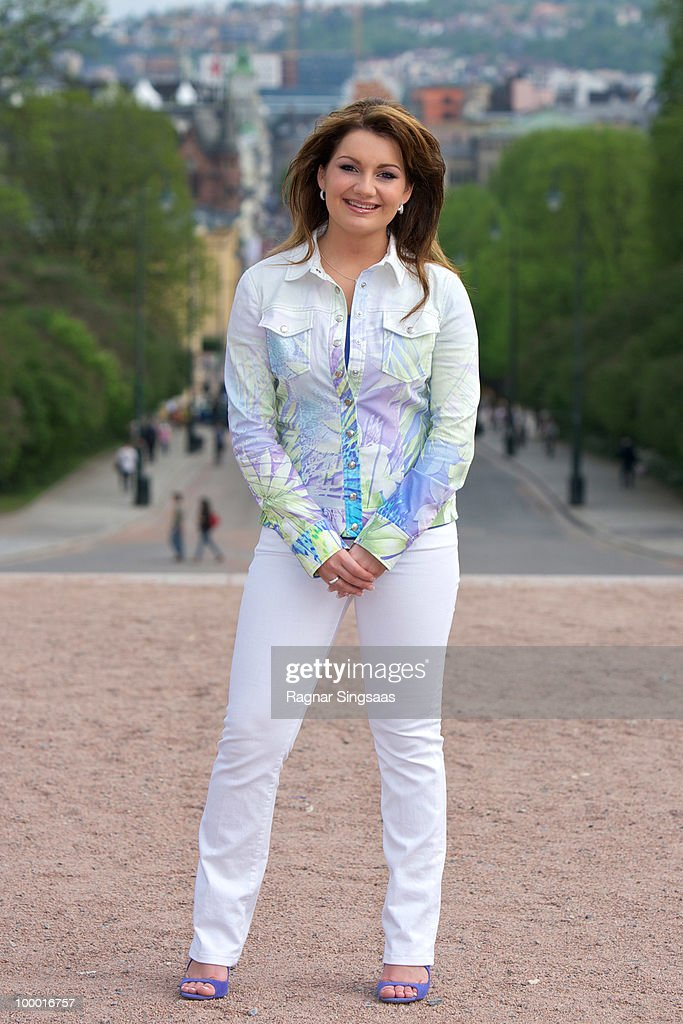 Sieneke of The Netherlands attends a photocall at The Eurovision Song Contest 2010 on May 20, 2010 in Oslo, Norway. 39 countries will take part in the 55th annual Eurovision Song Contest with the semi-finals scheduled to take place on May 25-27 and the final being held on May 29, 2010. on May 20, 2010 in Oslo, Norway.