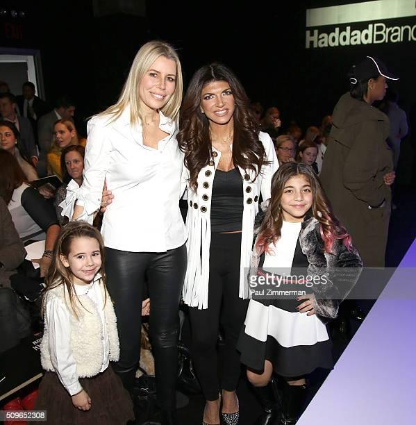 Sienna Drescher, Aviva Drescher, Teresa Giudice and Milania Giudice attend the Rookie USA Presents Kids Rock! - Front Row & Backstage - Fall 2016 New...