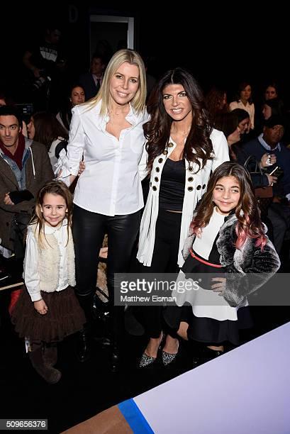 Sienna Drescher, Aviva Drescher, Teresa Giudice and Milania Giudice attend Rookie USA Presents Kids Rock! - Front Row & Backstage - Fall 2016 New...
