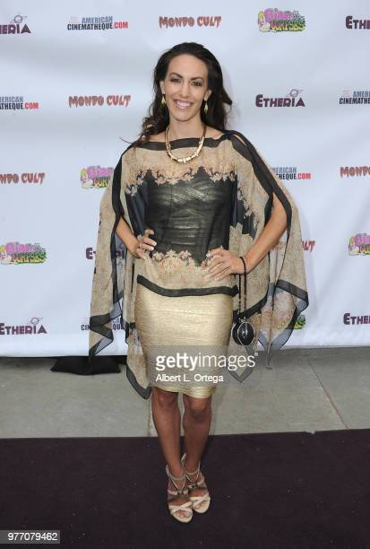 Sienna Eve Benton arrives for the 2018 Etheria Film Night held at the Egyptian Theatre on June 16 2018 in Hollywood California
