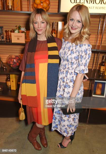 Sienna Guillory and Cara Theobold attend the launch of the 'Beyond The Cask' collaboration between Glenmorangie and Renovo at Behind The Bikeshed on...