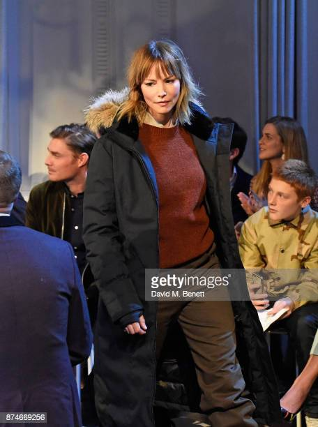 Sienna Guillory attends Canada Goose x London Celebrating London Flagship Opening and 60th Anniversary at Canada House on November 15 2017 in London...