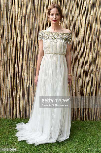 Sienna Guillory attends 'La Goob' Photocall on August 28 2014 in Venice Italy