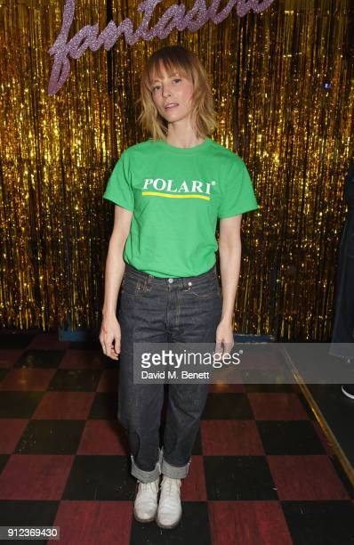 Sienna Guillory attends the ALEXACHUNG Fantastic collection party on January 30 2018 in London England