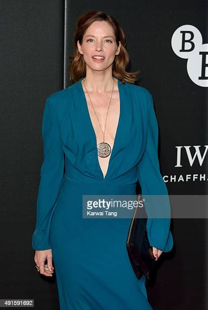 Sienna Guillory attends the BFI Luminous Funraising Gala at The Guildhall on October 6 2015 in London England