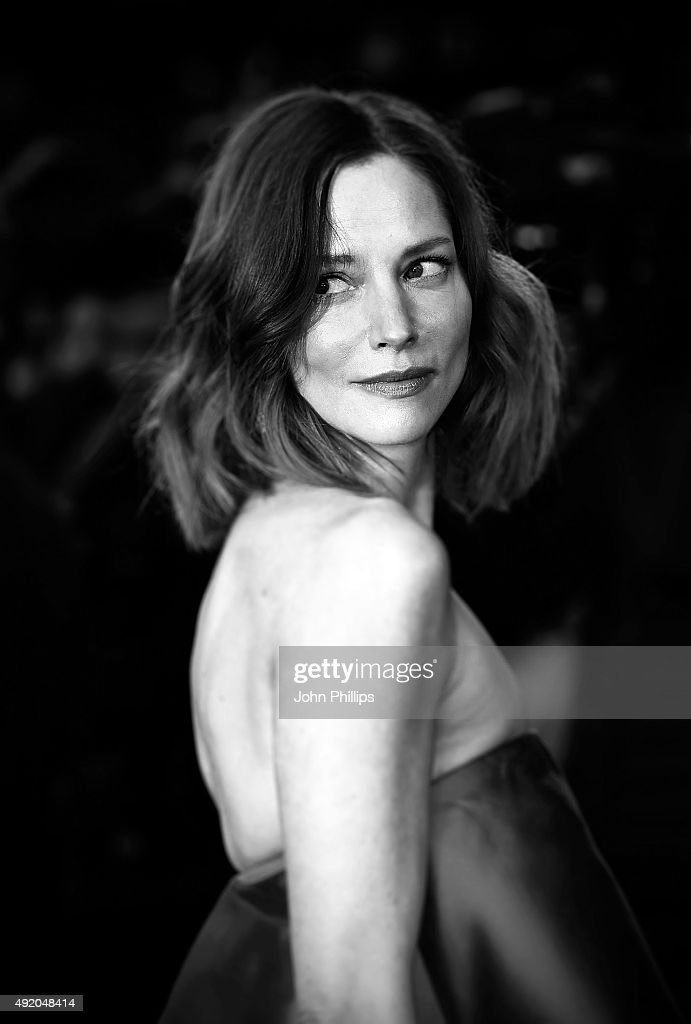 Sienna Guillory attends the High-Rise Screening, during the BFI London Film Festival, at Odeon Leicester Square on October 9, 2015 in London, England.