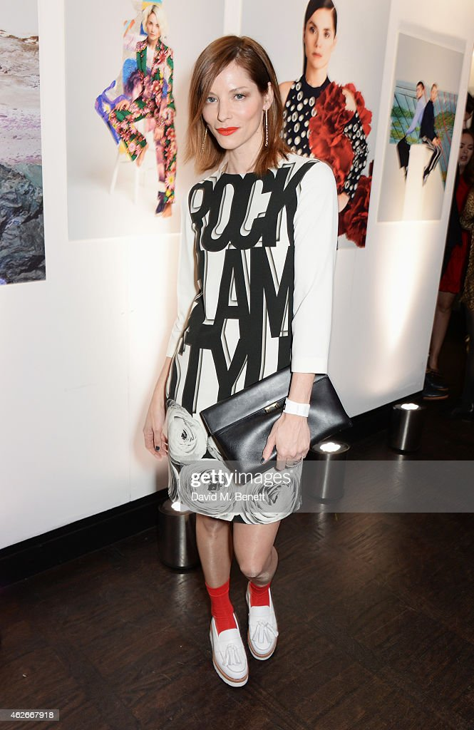 Sienna Guillory attends the InStyle and EE Rising Star
