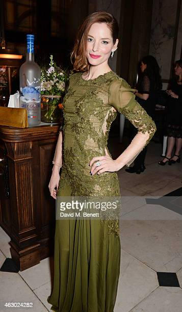 Sienna Guillory attends The Weinstein Company Entertainment Film Distributor StudioCanal 2015 BAFTA After Party in partnership with Jimmy Choo GREY...