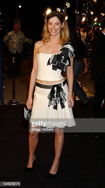 Sienna Guillory during 'The Time Machine' Premiere at Mann Village Theatre in Westwood California United States