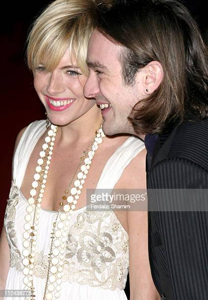 Sienna Miller and Charlie Cox during 'Casanova' London Premiere Arrivals at Vue West End in London Great Britain
