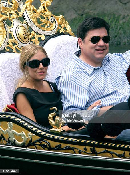 Sienna Miller and Oliver Platt during 2005 Venice Film Festival Sienna Miller Sighting September 3 2005 in Venice Lido Italy