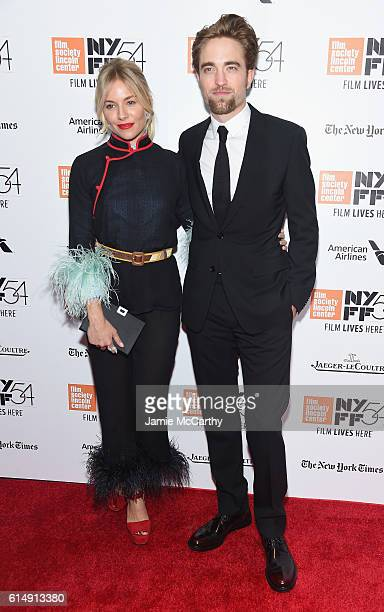 Sienna Miller and Robert Pattinson attend the Closing Night Screening of The Lost City Of Z for the 54th New York Film Festival at Alice Tully Hall...