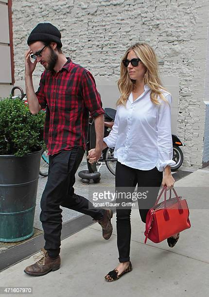 Sienna Miller And Tom Sturridge are seen on October 08 2012 in New York City