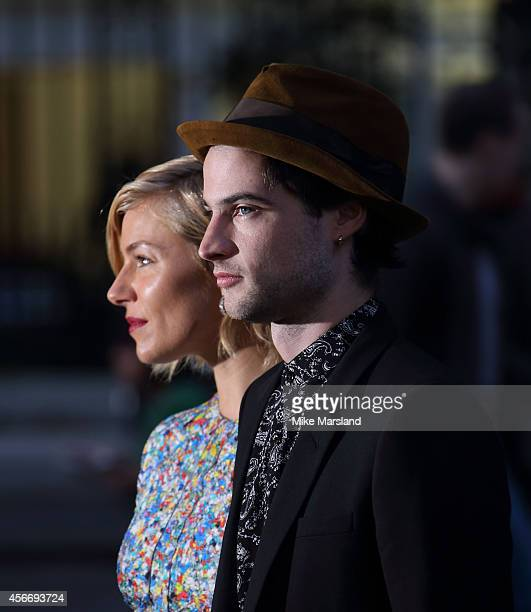 Sienna Miller and Tom Sturridge attend the World Premiere of 'Effie Gray' at The Curzon Mayfair on October 5 2014 in London England