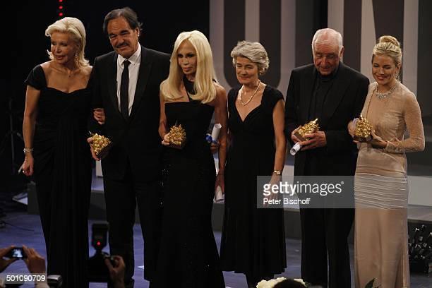 Sienna Miller Armin MuellerStahl Imina Bukova Donatella Versace Oliver Stone UteHenriette Ohoven CharityVeranstaltung 18 UnescoBenefizGala 2010 für...