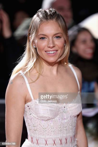 Sienna Miller arrives at 'The Lost City of Z' UK premiere at the British Museum on February 16 2017 in London United Kingdom