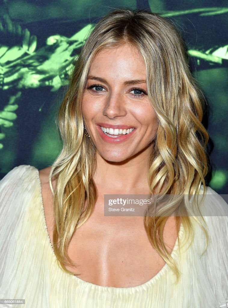 Sienna Miller arrives at the Premiere Of Amazon Studios' 'The Lost City Of Z' at ArcLight Hollywood on April 5, 2017 in Hollywood, California.