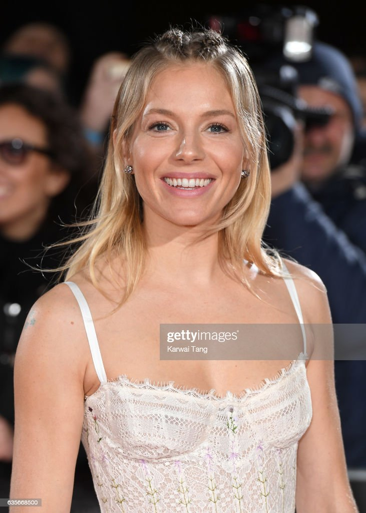 Sienna Miller arrives for the UK premiere of 'The Lost City of Z' at the British Museum on February 16, 2017 in London, United Kingdom.