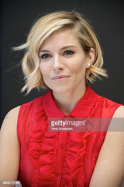 Sienna Miller at the 'American Sniper' Press Conference at the Mandarin Oriental Hotel on December 4 2014 in New York City