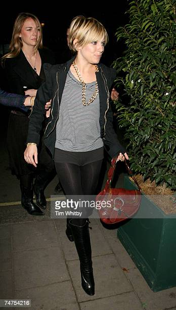 Sienna Miller at the Luciano's Restaurant in London, United Kingdom.