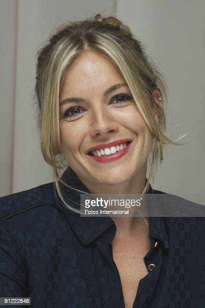 Sienna Miller at The Waldorf Astoria Hotel in New York City New York on August 1 2009 Reproduction by American tabloids is absolutely forbidden