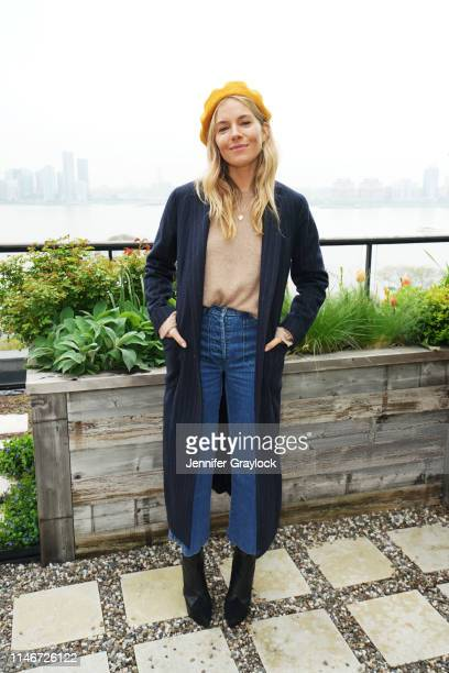 Sienna Miller attends a Mother's Day brunch hosted by Purvi Padia, founder of UNICEF Project Lion, to celebrate the launch of the Lioness Collection,...