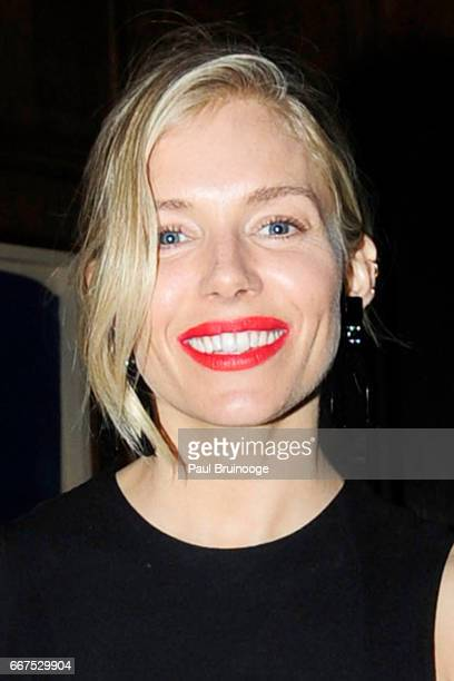 Sienna Miller attends Amazon Studios Bleecker Street Host the After Party for The Lost City of Z at The Explorer's Club on April 11 2017 in New York...