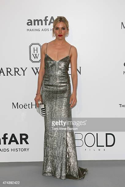 Sienna Miller attends amfAR's 22nd Cinema Against AIDS Gala Presented By Bold Films And Harry Winston at Hotel du CapEdenRoc on May 21 2015 in Cap...