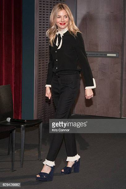Sienna Miller attends an official academy screening of LIVE BY NIGHT hosted by the The Academy of Motion Picture Arts and Sciences at MOMA Celeste...