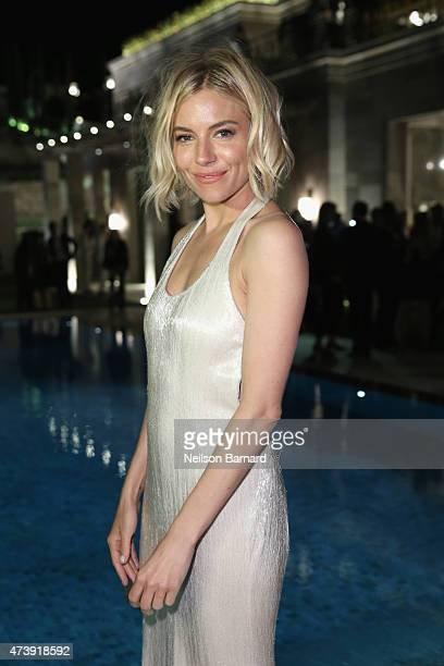 Sienna Miller attends IFP Calvin Klein Collection euphoria Calvin Klein celebrate Women in Film at the 68th Cannes Film Festival on May 18 2015 in...