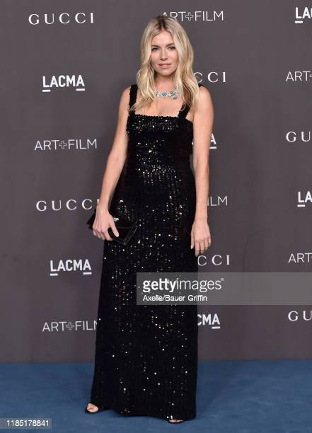Sienna Miller attends the 2019 LACMA Art + Film Gala Presented By Gucci on November 02, 2019 in Los Angeles, California.
