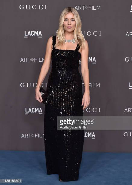 Sienna Miller attends the 2019 LACMA Art Film Gala Presented By Gucci on November 02 2019 in Los Angeles California