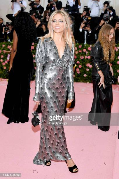 Sienna Miller attends The 2019 Met Gala Celebrating Camp Notes on Fashion at Metropolitan Museum of Art on May 06 2019 in New York City