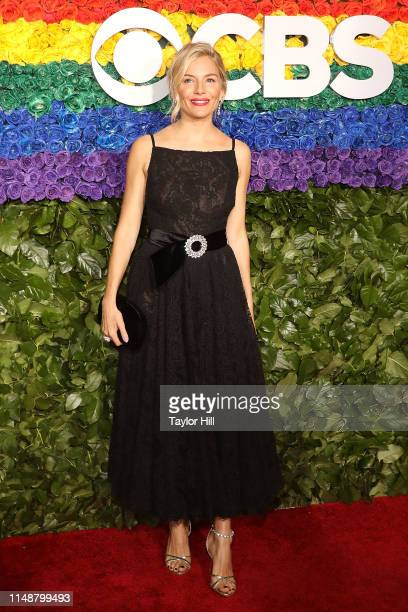 Sienna Miller attends the 2019 Tony Awards at Radio City Music Hall on June 9 2019 in New York City