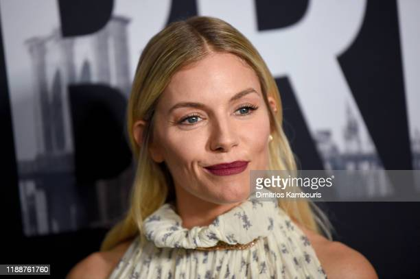 Sienna Miller attends the 21 Bridges New York Screening at AMC Lincoln Square Theater on November 19 2019 in New York City