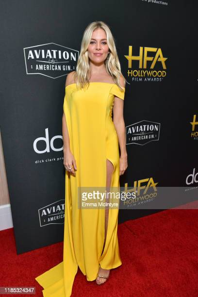 Sienna Miller attends the 23rd Annual Hollywood Film Awards at The Beverly Hilton Hotel on November 03 2019 in Beverly Hills California