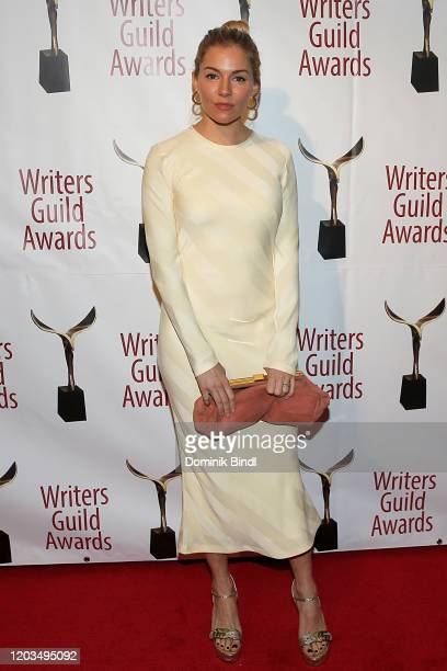 Sienna Miller attends the 72nd Writers Guild Awards at Edison Ballroom on February 01 2020 in New York City