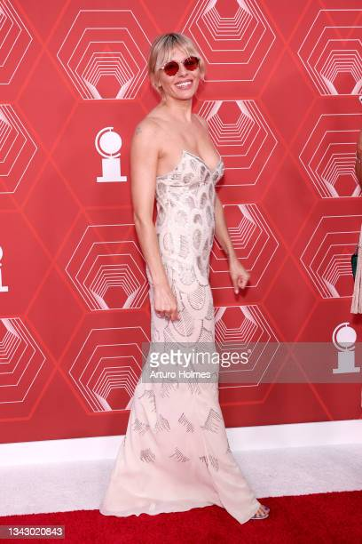 Sienna Miller attends the 74th Annual Tony Awards at Winter Garden Theater on September 26, 2021 in New York City.