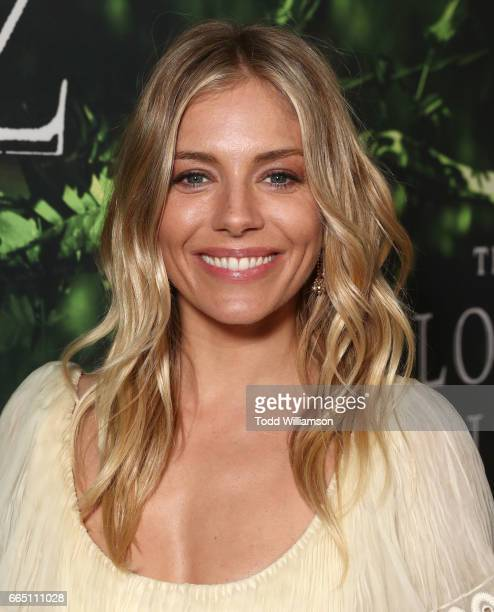 Sienna Miller attends the Amazon Studios and Bleeker Street's Los Angeles Premiere Of James Gray's THE LOST CITY OF Z on April 5 2017 in Hollywood...