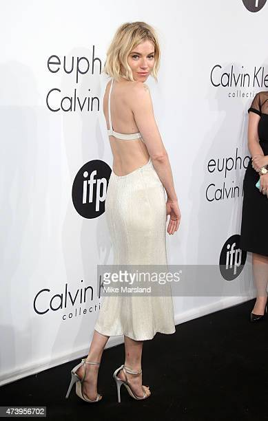 Sienna Miller attends the Calvin Klein party during the 68th annual Cannes Film Festival on May 18, 2015 in Cannes, France.