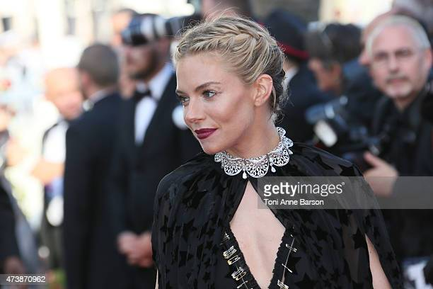Sienna Miller attends the Carol premiere during the 68th annual Cannes Film Festival on May 17 2015 in Cannes France