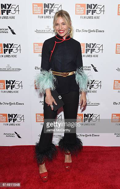 Sienna Miller attends the Closing Night Screening of The Lost City Of Z for the 54th New York Film Festival at Alice Tully Hall Lincoln Center on...