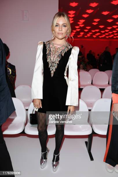 Sienna Miller attends the Gucci show during Milan Fashion Week Spring/Summer 2020 on September 22 2019 in Milan Italy