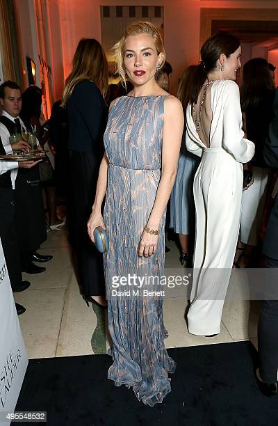 Sienna Miller attends the Harper's Bazaar Women of the Year Awards 2015 at Claridges Hotel on November 3 2015 in London England