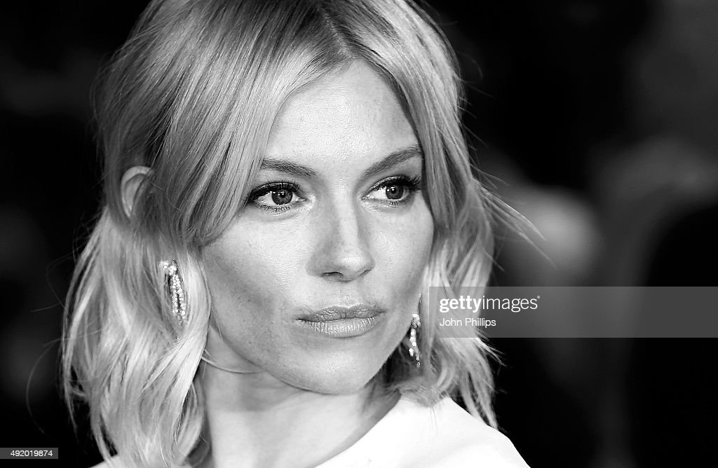 Sienna Miller attends the High-Rise Screening, during the BFI London Film Festival, at Odeon Leicester Square on October 9, 2015 in London, England.