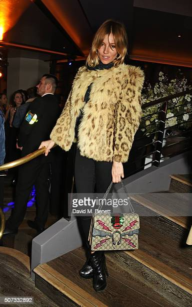 Sienna Miller attends the launch of 100 Wardour St on January 28 2016 in London England
