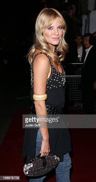 Sienna Miller Attends The 'Layer Cake' Premiere At The Electric Cinema In London'S Portobello Road