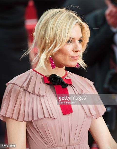 Sienna Miller attends the Macbeth Premiere during the 68th annual Cannes Film Festival on May 23 2015 in Cannes France